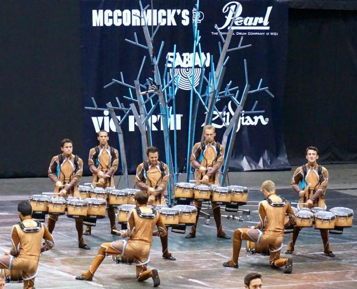 """RCC Indoor Percussion performs """"Guardians of the Breath."""""""