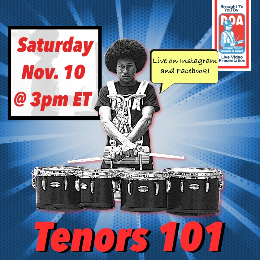 tenors 101 flyer